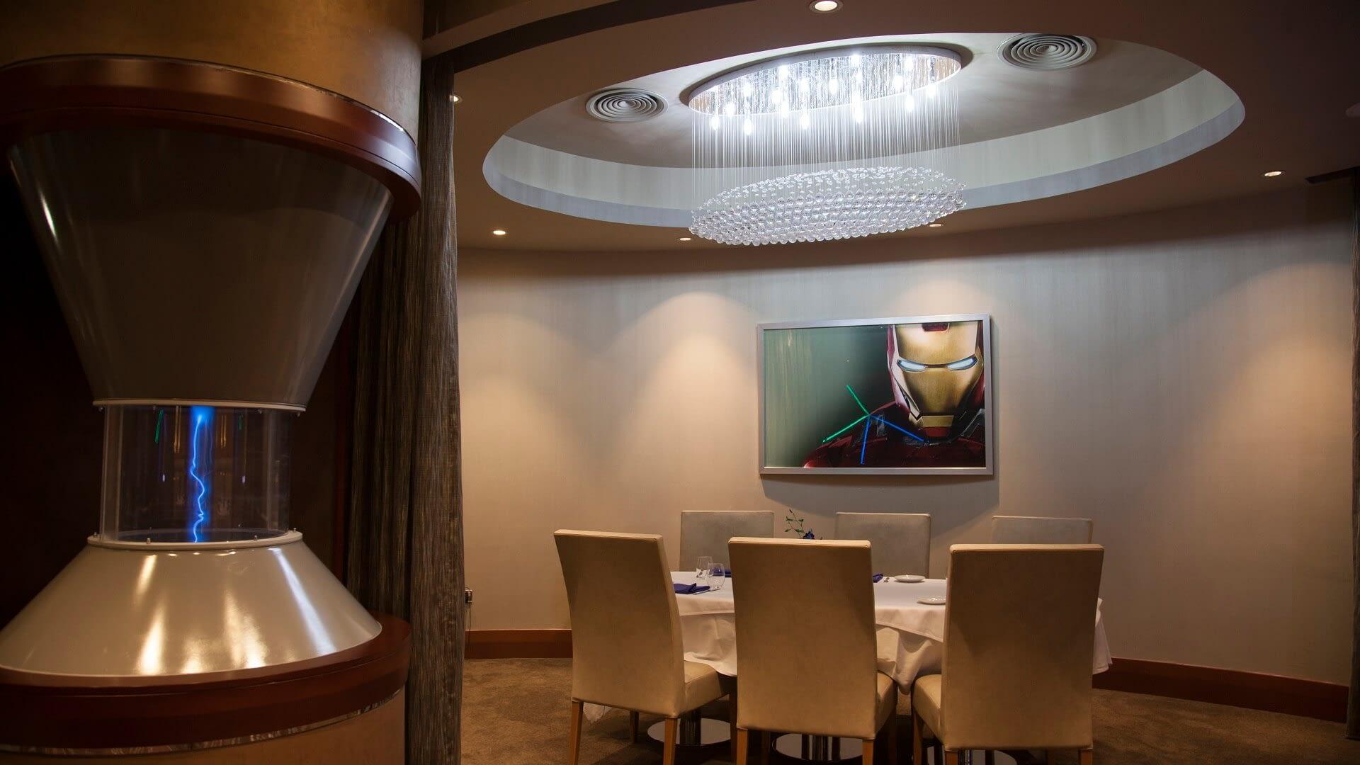 Tony Stark restaurant