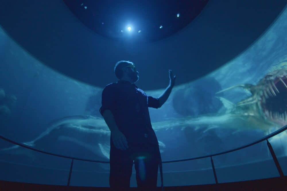 Interactive dome theater