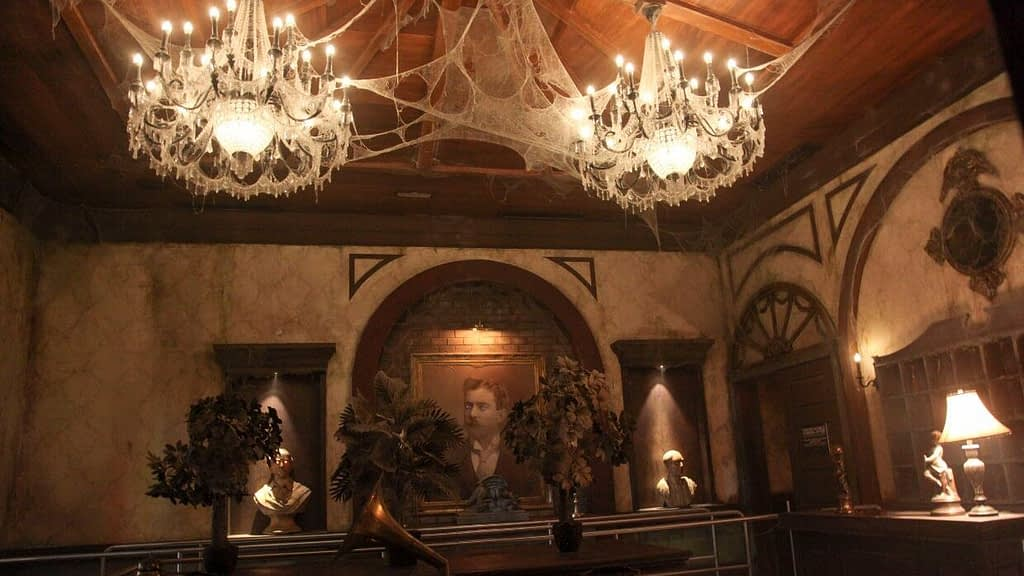 Haunted Hotel at IMG Worlds of Adventure Lobby