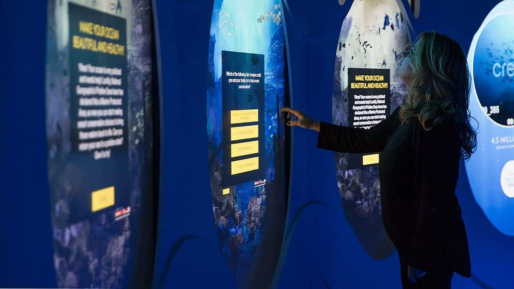 Interactives at National Geographic Encounter Ocean Odyssey