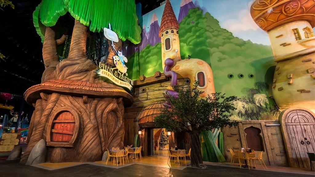 Cartoon Network themed restaurant
