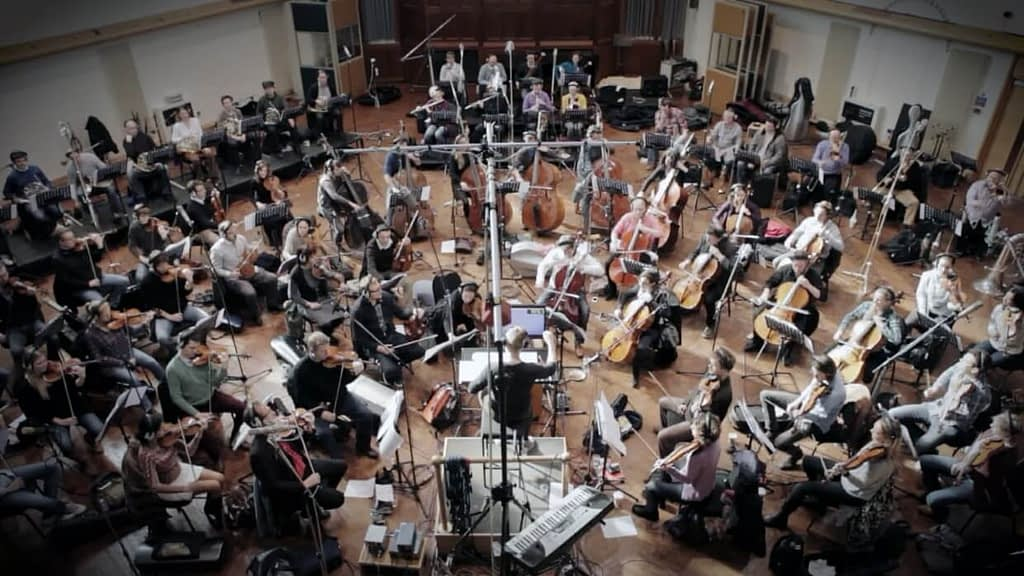 Orchestra Recording for theme park attraction