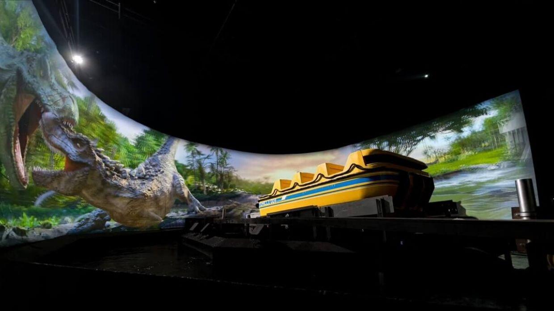 Jurassic Island Superflume ride at Trans Studio Cibubur's