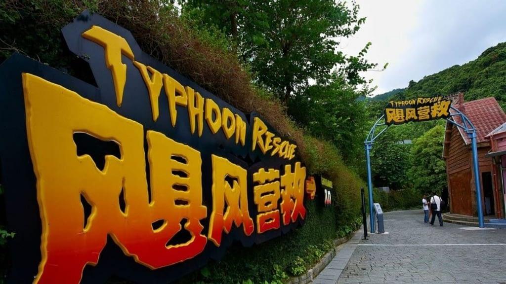 OCT's Typhoon Rescue