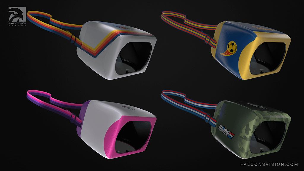 Falcon's Vision Headset Customization