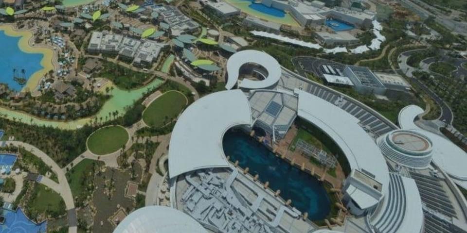 Destination resort masterplan