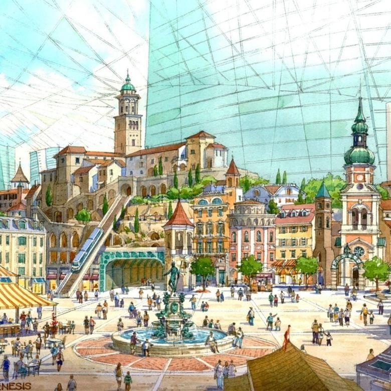 Destination Resort Concept Master Plan