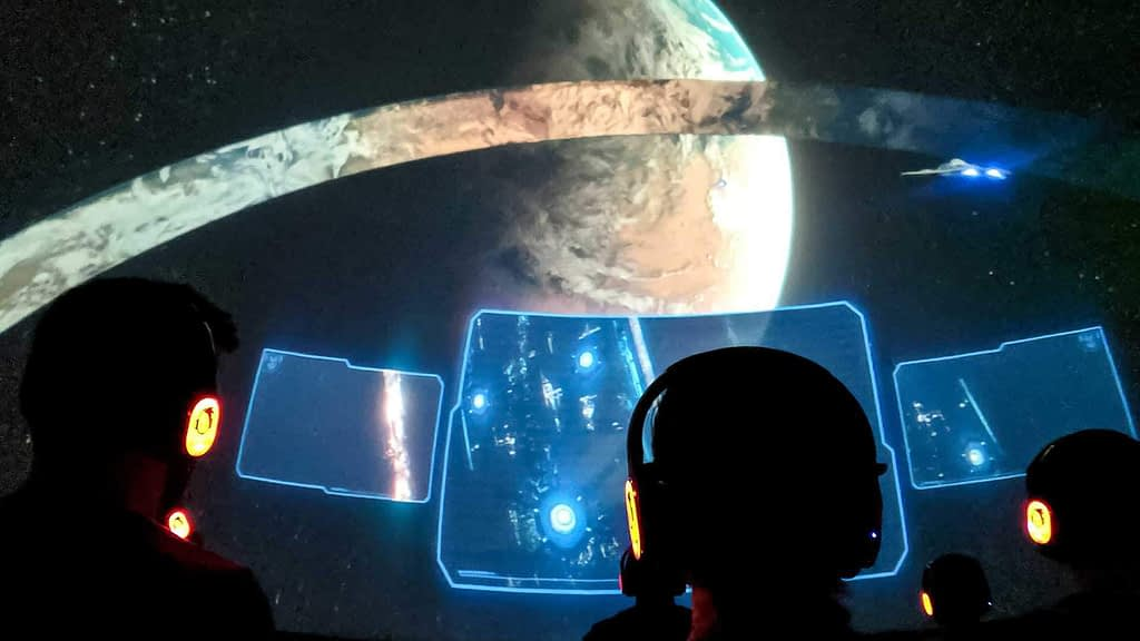 Halo: Outpost Discovery, The Ring Experience