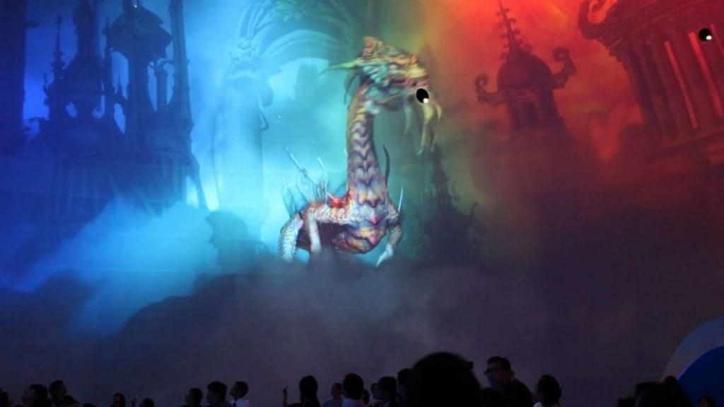 Dragon's Treasure Dome Attraction