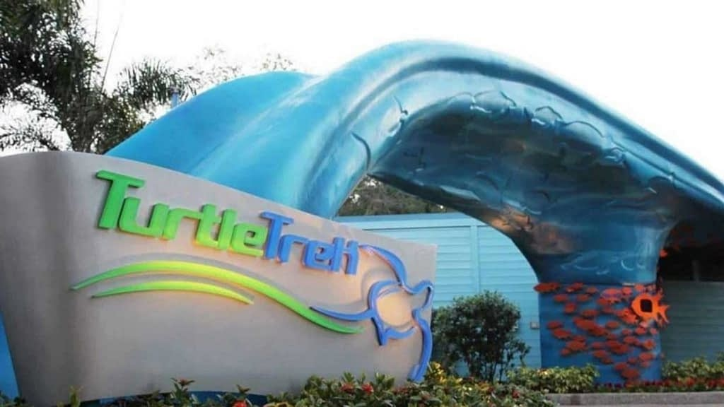 Turtle Trek at SeaWorld Orlando entrance