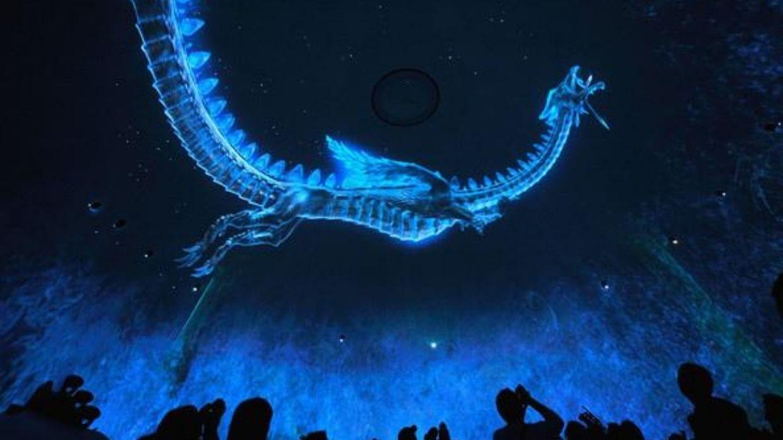 光的魔法:探索光雕投影的演变历程