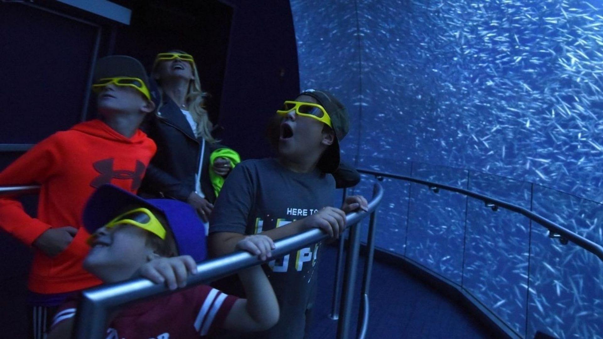 Virtual Aquarium at National Geographic Encounter Ocean Odyssey