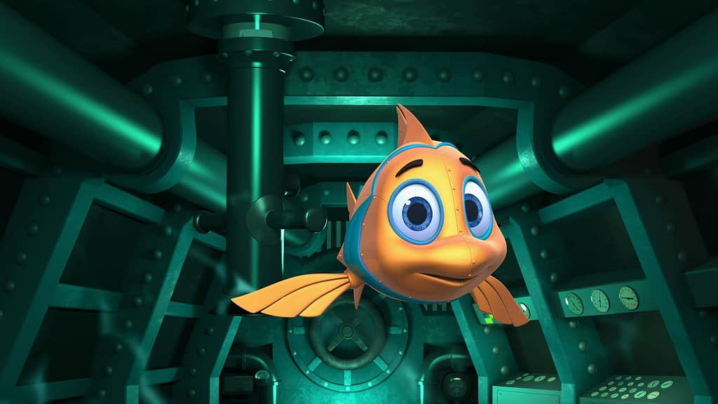 Deep Sea Odyssey Dark Ride Media