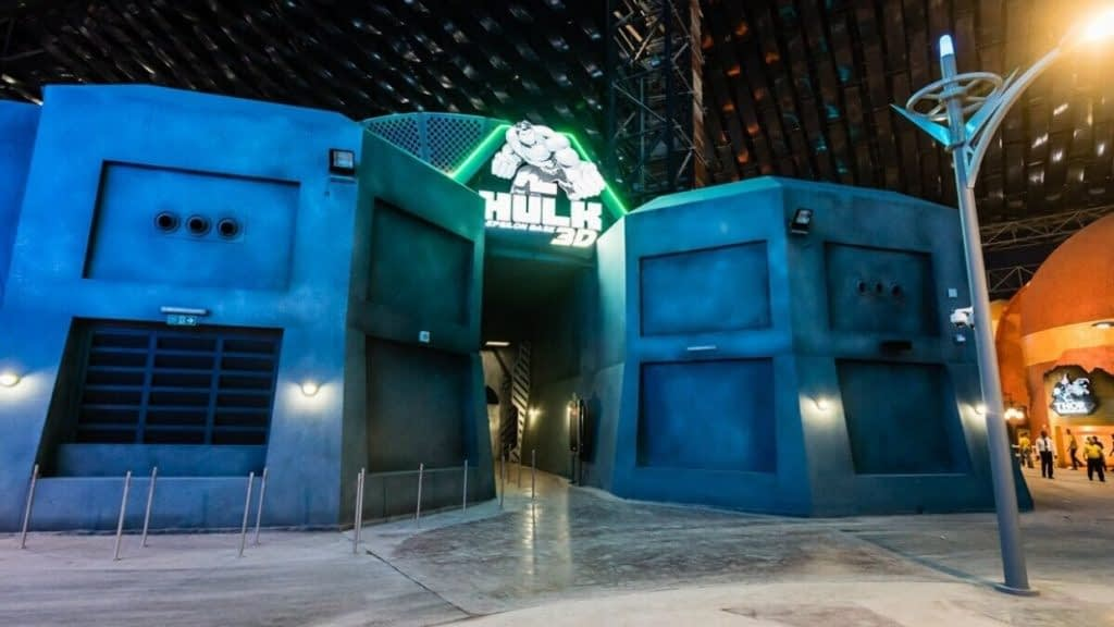 Hulk Circumotion Attraction Entrance