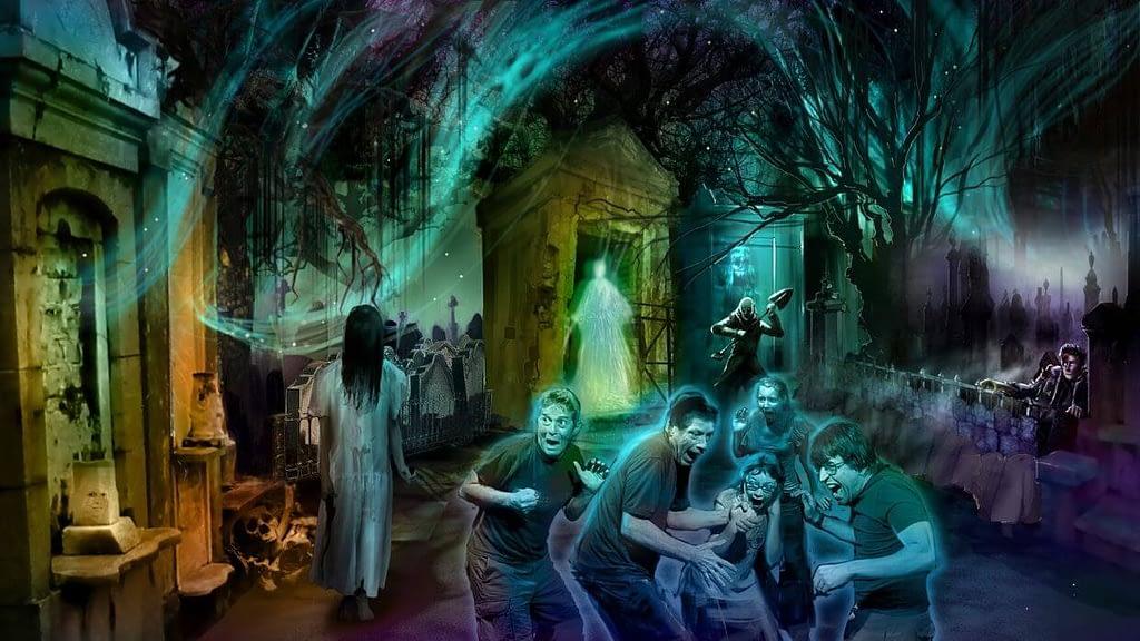 Haunted Hotel Attraction Concept Design