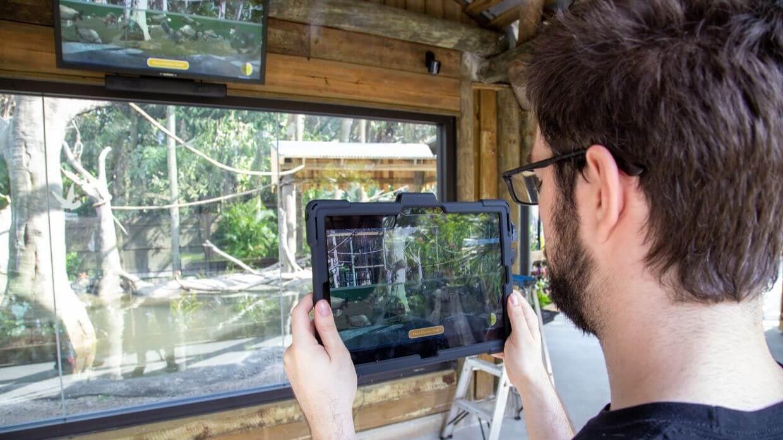 方垦创意集团为布里瓦德动物园带来增强现实寓教于乐体验