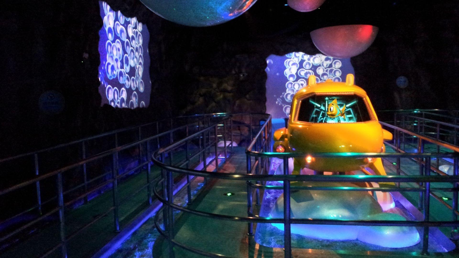 Deep Sea Ocean Odyssey dark ride