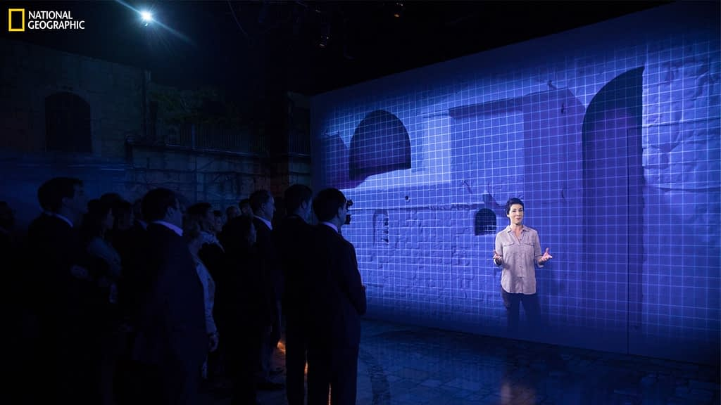 Projection Mapping at National Geographic Museum