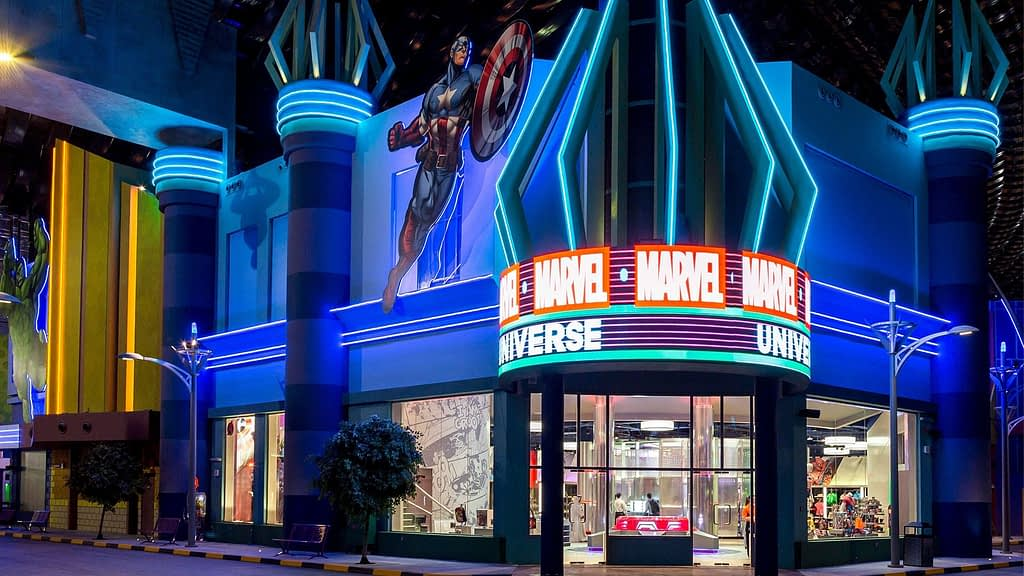 Marvel Universe Store at IMG Worlds of Adventure
