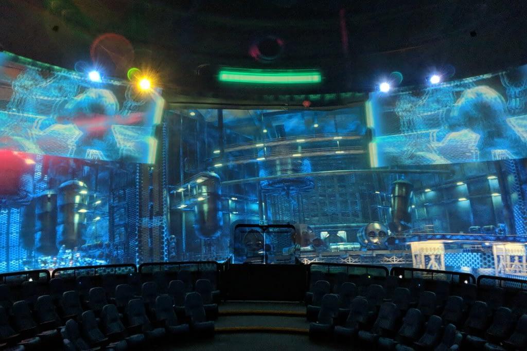 Falcon's dome theater