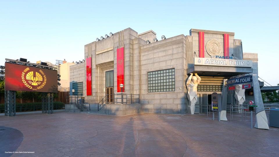 Panem Aerial Tour at MOTIONGATE Dubai: Lionsgate Zone