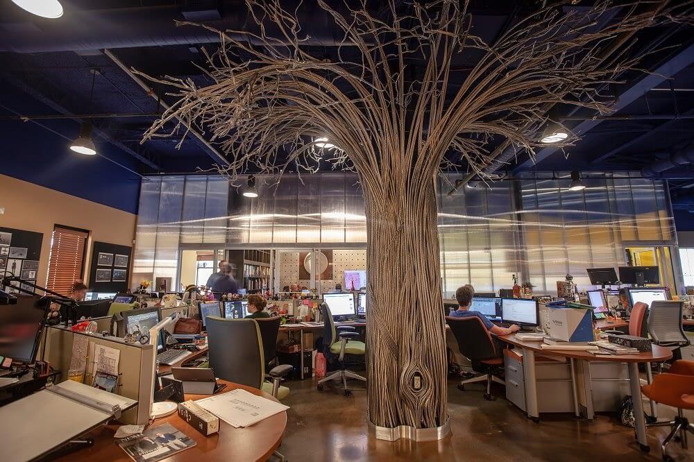 Falcon's Creative Group Office