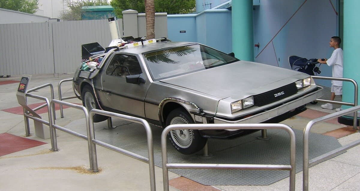 Back To The Future Ride Universal