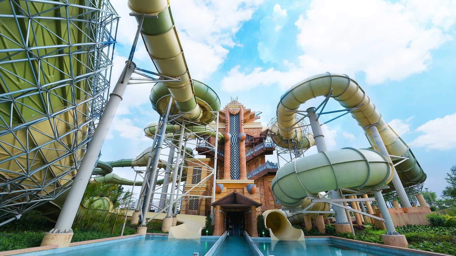 Aquaventure Waterpark at Atlantis Sanya