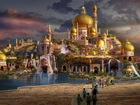 Sahara Kingdom Artwork
