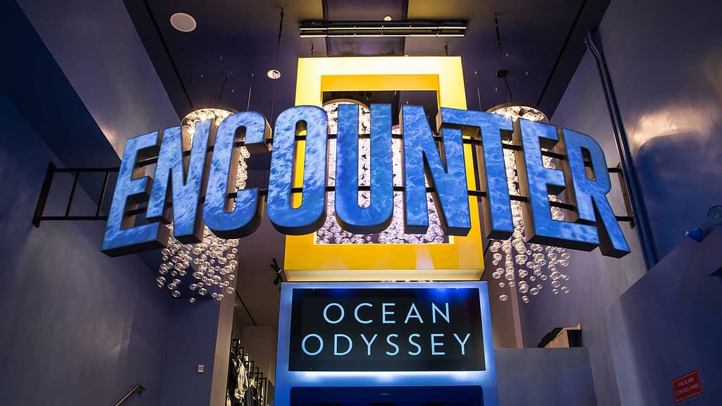 Ocean Odyssey entrance