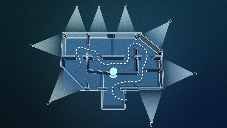 SpectraVerse attraction floor plan