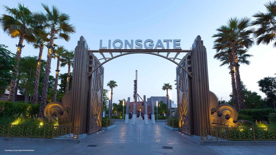 MOTIONGATE Dubai: Lionsgate Zone Entrance