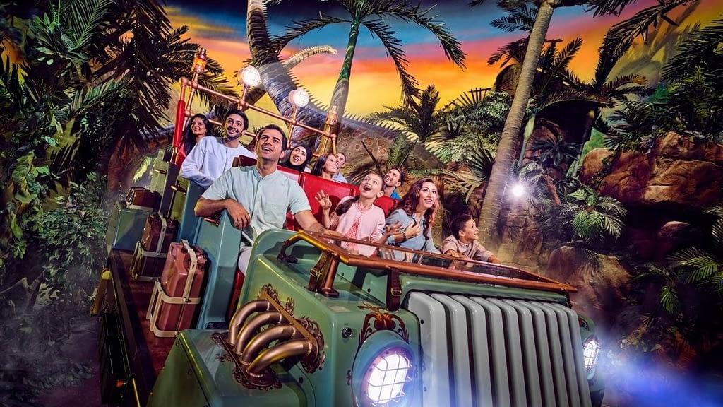Theme Park Dark Ride