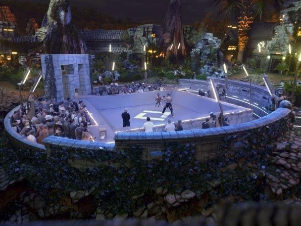 Falcon's produces Karate Combat arena virtual background