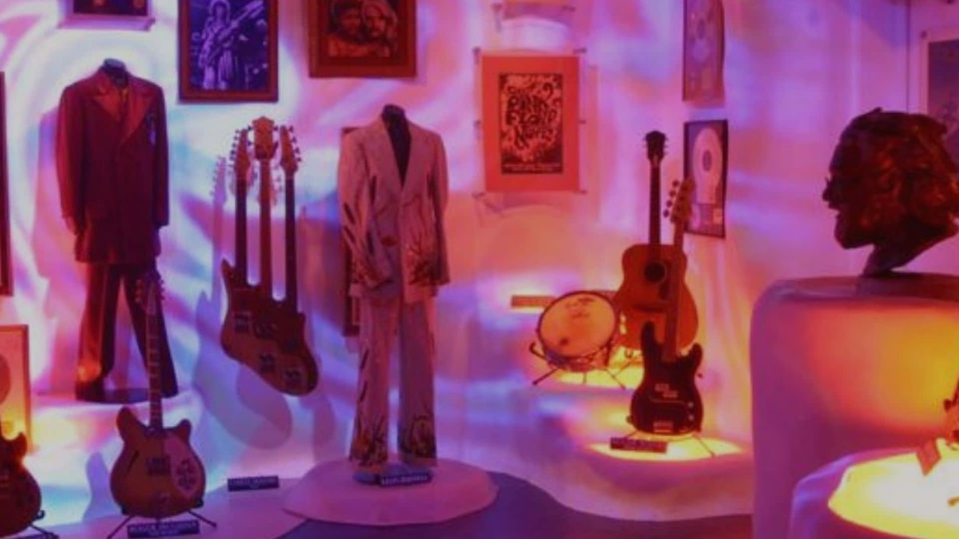 Hard Rock Vault's Elvis room