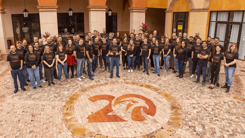 Falcon's Creative Group Team Photo