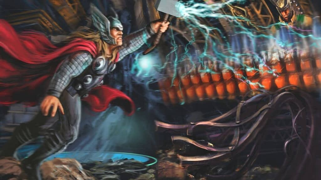 Thor Theme Park Attraction