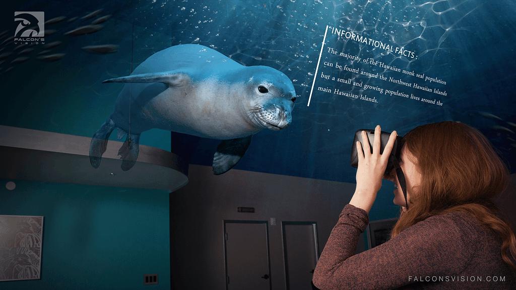 AR Headset for Aquarium