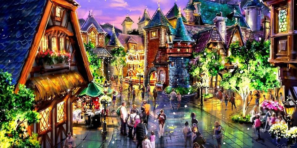 Theme Park Concept Art