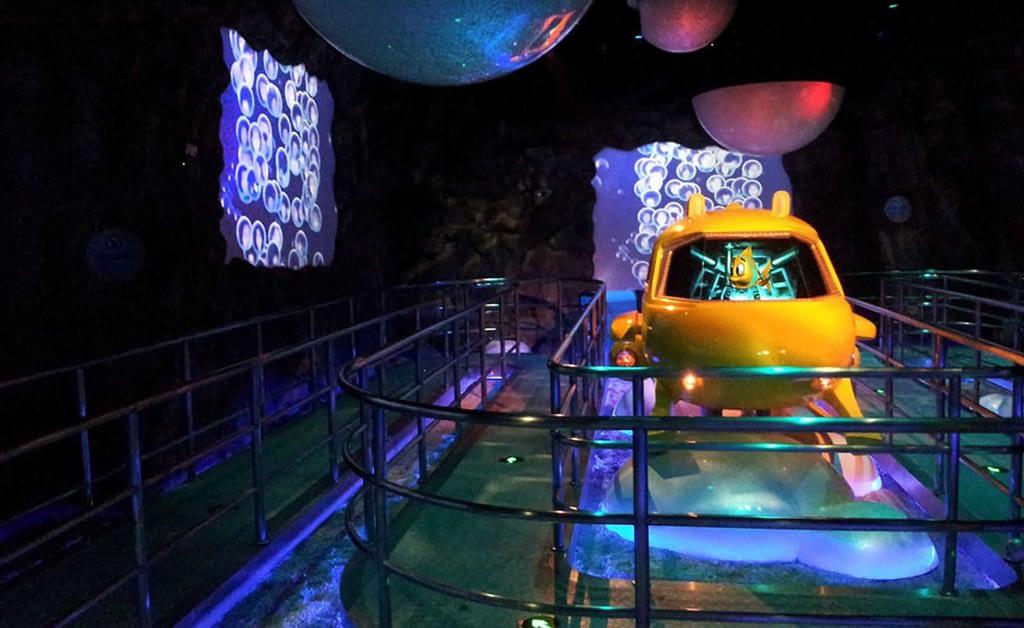 Chimelong Ocean Kingdom - Dark Ride Vehicle