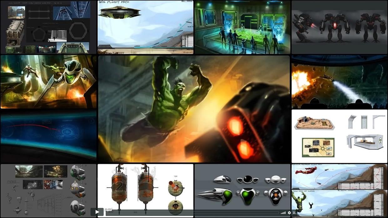 Hulk Epsilon 3D Concept Art