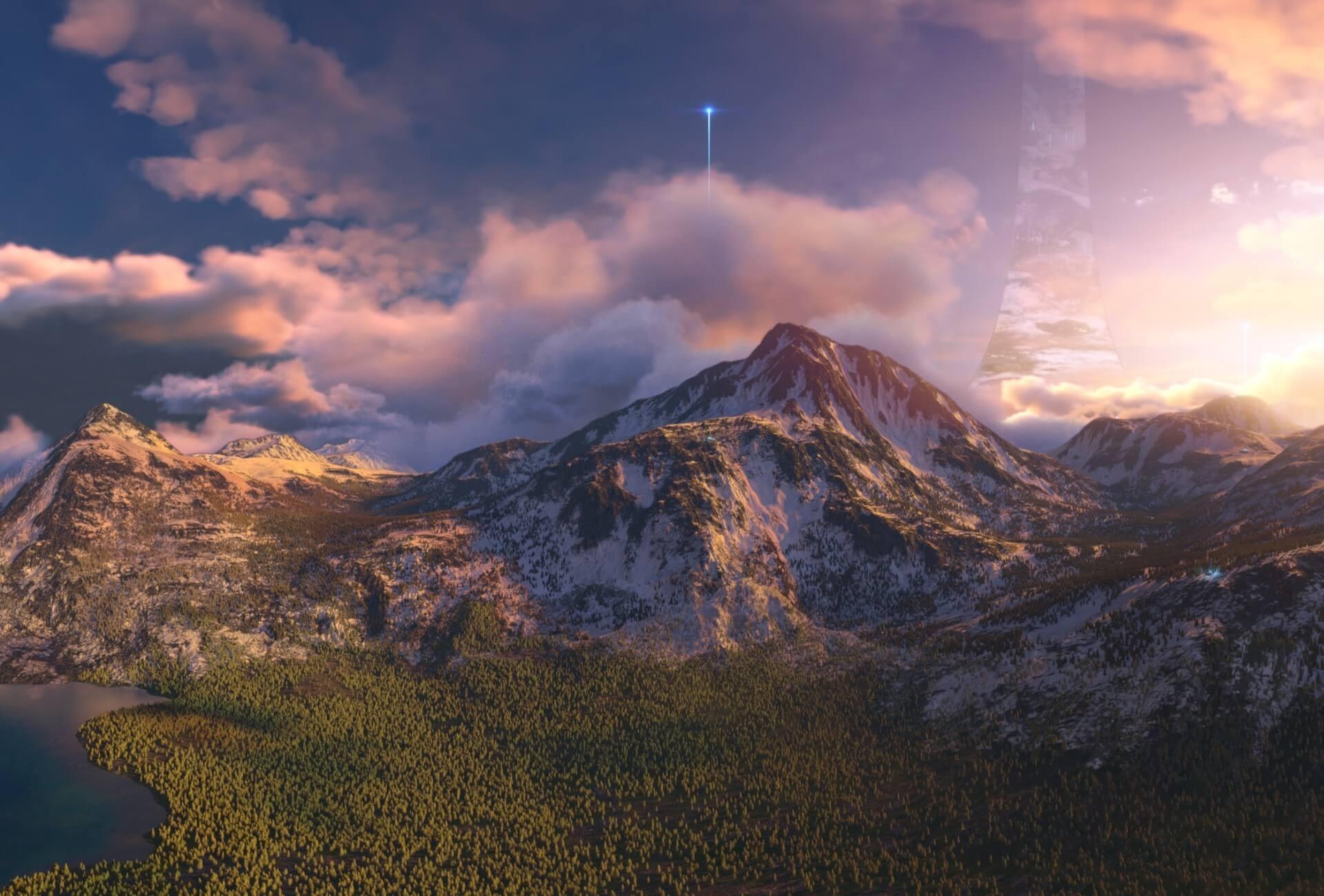 HALO - Utilizing World Creator - After