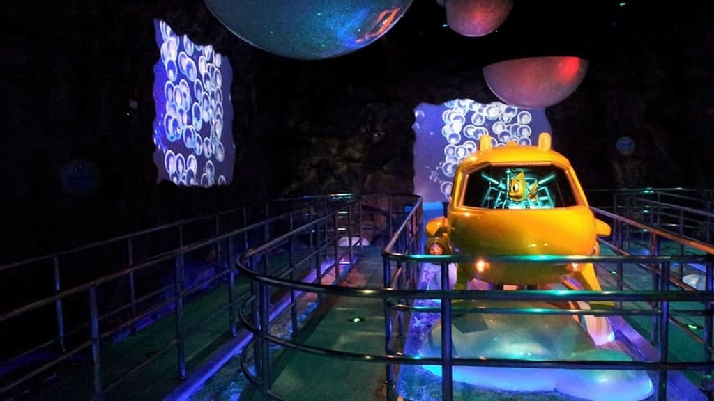 Chimelong Ocean Kingdom dark ride vehicle