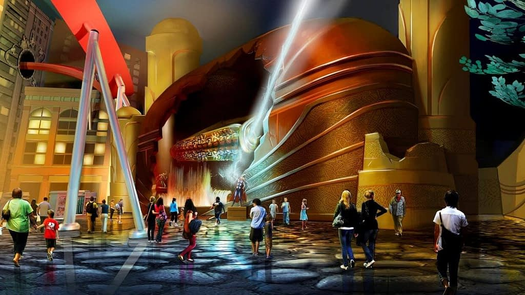 Thor Thunder Spin Concept Design