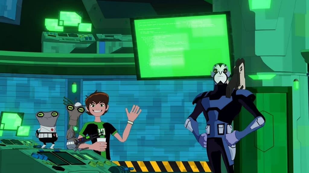 Ben 10 5D Theater at IMG Worlds of Adventure