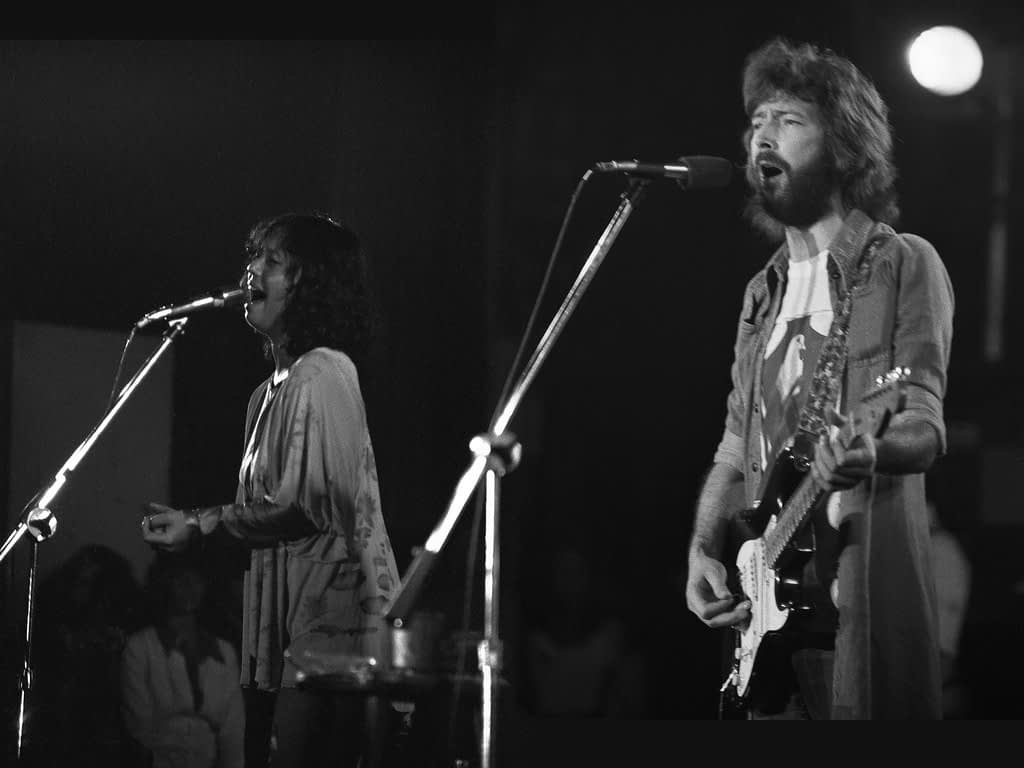 Eric Clapton with Guitar