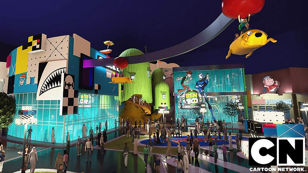 Theme Park Architectural Visualization