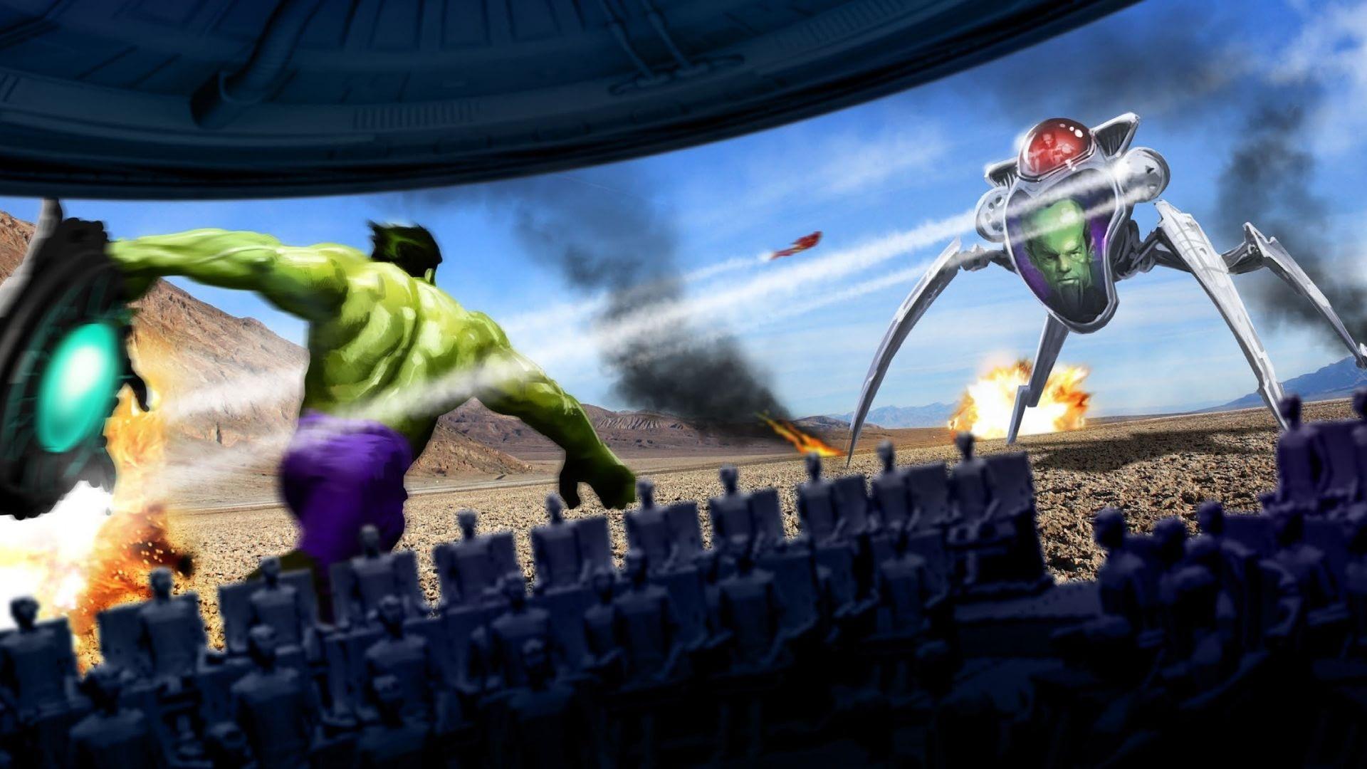 Hulk CirucMotion Theater