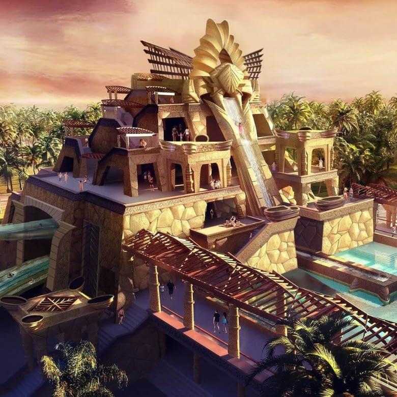Water Park Design Concept