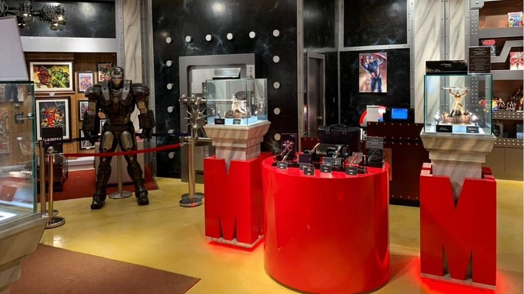 Marvel Vault Store at IMG Worlds of Adventure